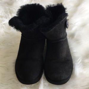 UGG Black Short Boots